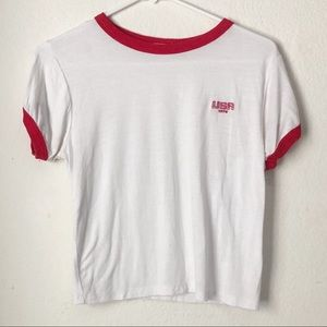 PacSun USA embroidered Graphic Tee